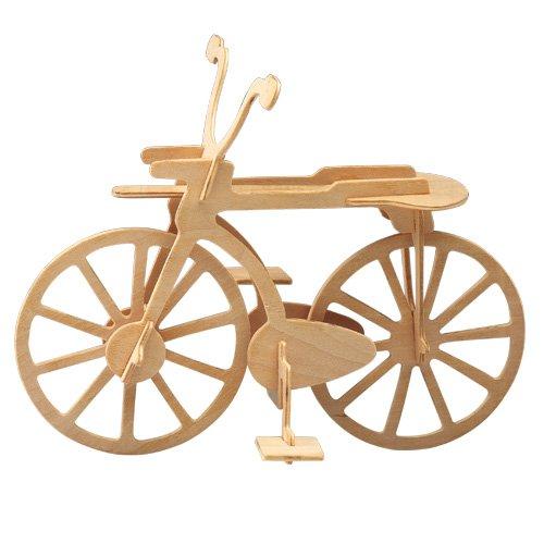Etna Ilawa Fahrrad 3D Holzbausatz Fahrzeug Bike Rad Rennrad Bausatz Holz Steckpuzzle Holzpuzzle P012