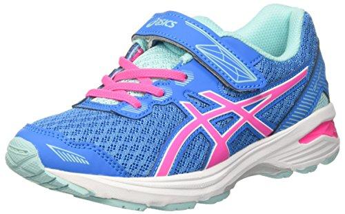 Asics Gt-1000 5 Ps, Chaussures de Course pour Entraînement sur Route Mixte Enfant Multicolore (Diva Blue/pink Glow/aqua Splash)