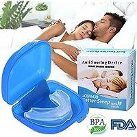 Steerfr Anti Schnarchen Schnarchen Lösung Mundstück FDA-Zulassung Stop Schnarcher Stopper (weiß) preisvergleich bei billige-tabletten.eu