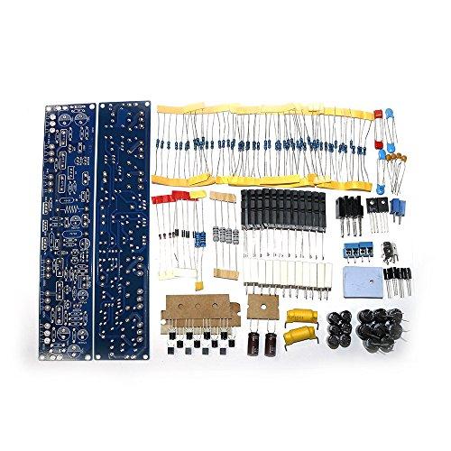 Q-BAIHE 2pcs Kit de Amplificador de Potencia L10 200W + 200W