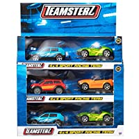 Teamsterz Die-cast 4x4 Sport Racing Team Playset | Kids Metal Toy Racing Vehicles Great For Children Aged 3+