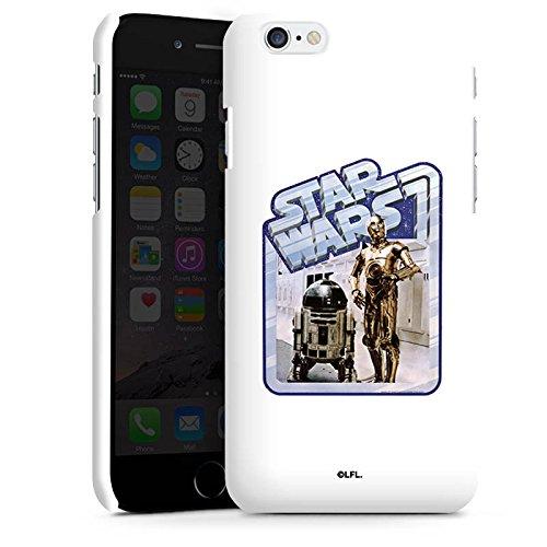 Apple iPhone X Silikon Hülle Case Schutzhülle Star Wars Merchandise Fanartikel Droids Premium Case matt
