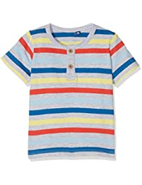 TOM TAILOR Kids Baby Boys' Striped Henley T-Shirt