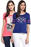Ajile by Pantaloons Women's Round Neck T...