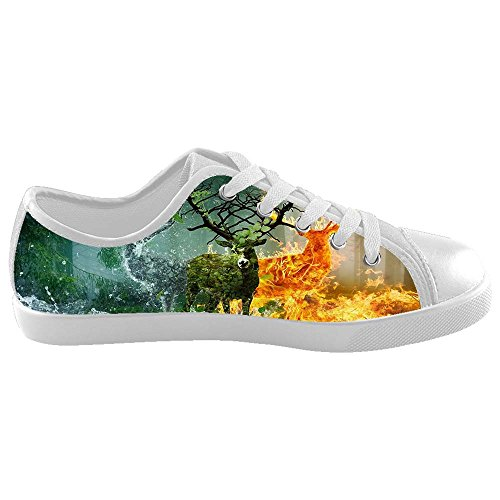 Dalliy kunst hirsch Boy's High-top Canvas shoes Schuhe Footwear Sneakers shoes Schuhe C