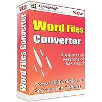 Lantech Soft Total Word Files Converter - 1 PC, 1 Year (CD)