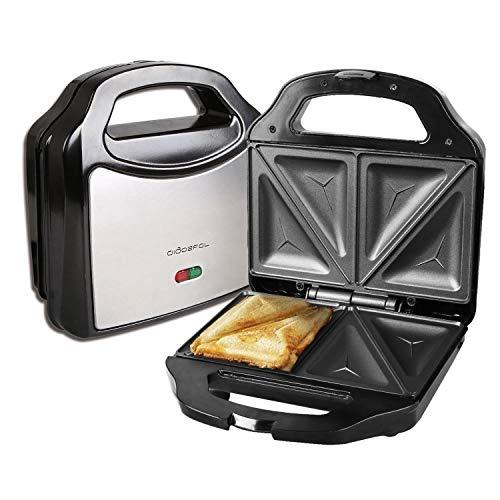 Aigostar Cieplo Steel 30CEX - Sandwichera de