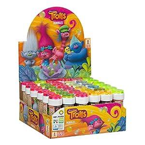 ColorBaby - Trolls Pomperos de jabón, 36 unidades (ColorBaby 76858)