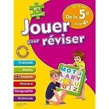 Jouer pour réviser - De la 5e à la 4e 12-13 ans