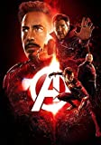Generic Avengers; Infinity War Film Foto Poster Film Kunst Iron Man Spider-Man 010 (A5-A4-A3) - A3