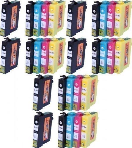 Preisvergleich Produktbild 30 Ersatz Patronen kompatibel zu Epson T1281 T1282 T1283 T1284