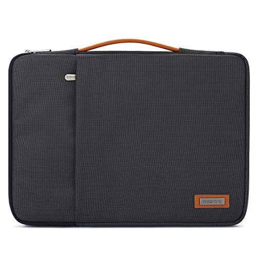 "NIDOO 13 Zoll Laptop Tasche Sleeve Hülle Umhängetaschen Aktentasche Laptoptasche für 13.5"" Surface Book 2/13.3"" HP EliteBook 830 G5 / 13.3"" Dell Latitude 3390, Schwarz"