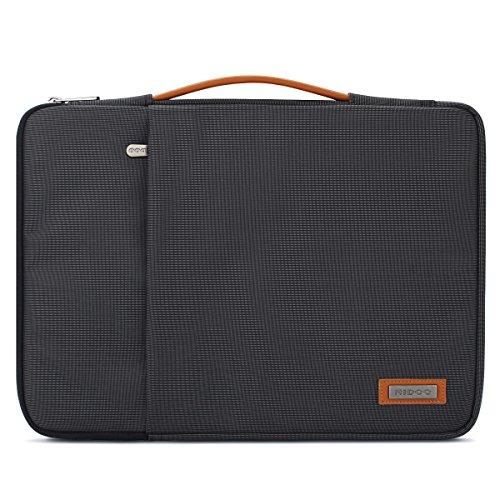 """NIDOO 14 Zoll Laptop Tasche Sleeve Hülle Umhängetaschen Aktentasche Laptoptasche für 14"""" Lenovo Yoga 530 ThinkPad E485 / 14"""" Acer Swift 5 7, Schwarz"""