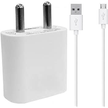 shopcart Charger For Samsung Guru Music 2 Mobile Charger, Power Charger, Wall Charger, Fast Adaptive Charger, Android Smartphone Charger, Hi-Speed Travel Charger With Micro USB Charging Data Cable - 1m Long White