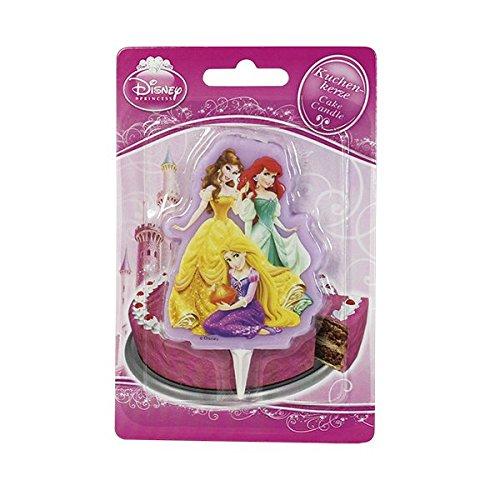 Dekoback 01-14-00738 Kuchenkerze Disney Princess 2D (Disney Geburtstag Princess 1.)