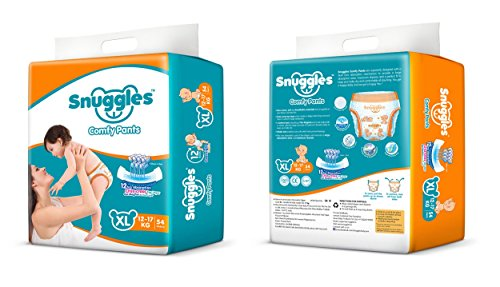Snuggles-Standard-Pants-XL-Size-Diapers-54-Count