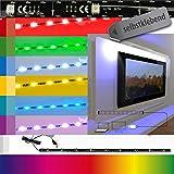 Hintergrundbeleuchtung LED Leiste USB 80 cm lang 32 Zoll