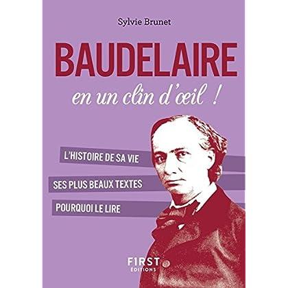 Petit livre de - Baudelaire en un clin d'oeil (Le petit livre)