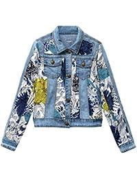 Amazon.it  desigual - Giacche e cappotti   Donna  Abbigliamento af2d8344b5a