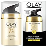 Olay Total Effects 7-in-1 Touch of Sunshine Moisturiser, 50ml