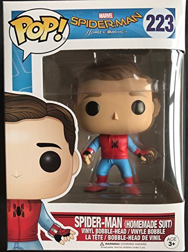 Homemade-Suit-Unmasked-Spider-Man-Spider-Man-Homecoming-Limited-Edition-Funko-Pop-Vinyl-Figure-Importacin-inglesa