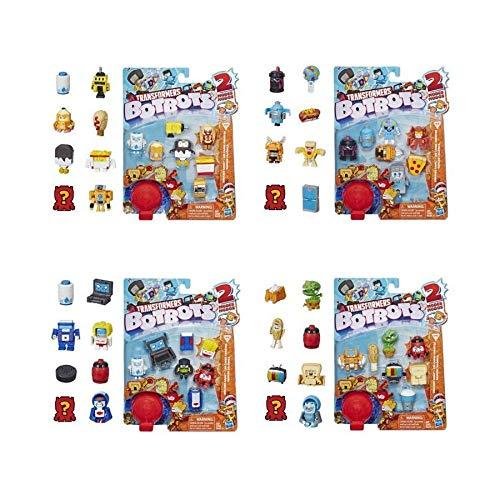 Hasbro Transformers Botbots - Pack of 8 Figures 4 cm ( Random Pattern )