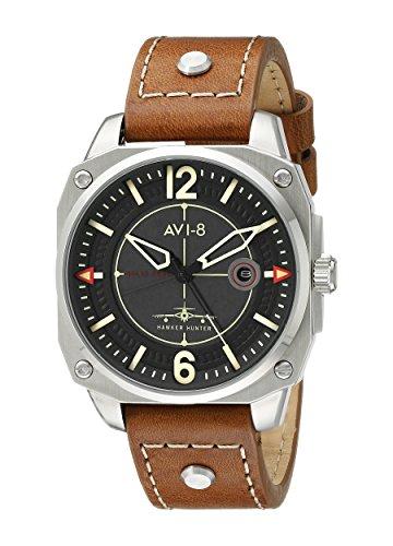 Giacca da uomo avi-8av-4039-02Hawker Hunter orologio analogico al quarzo giapponese