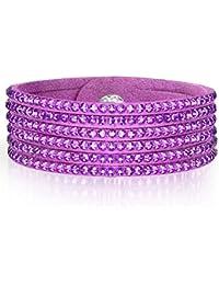 Rafaela Donata - Bracelet fashion cristal de verre - En différentes longueurs, bracelet cristal de verre - 60917076