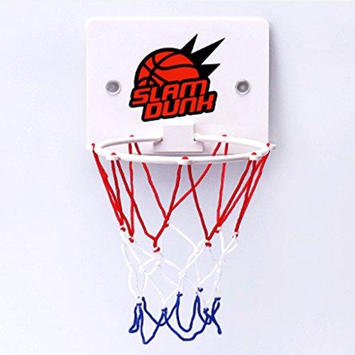 Lamdoo Mini Saugnapf Basketball Hoop Spielzeug WC Badespielzeug Kinder Erwachsene Spielzeug Indoor Sport