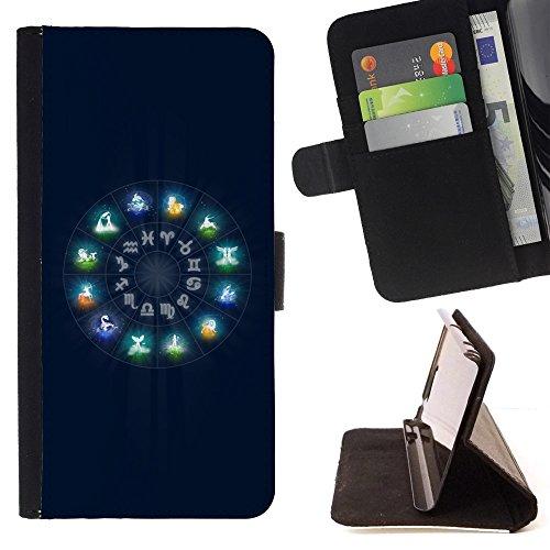 xp-tech-flip-klapp-leder-handy-schutz-hulle-case-mit-kartenhalter-fur-htc-desire-825-neon-zodiac-sig