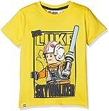 LEGO Wear Boy Star Wars M-72366-T-Shirt, Camiseta de Manga corta para Niños, Gelb (Yellow 233), 11 Años