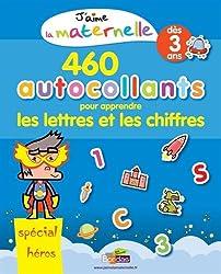 J'aime la maternelle - Cahier d'activités et d'autocollants - Spécial Héros