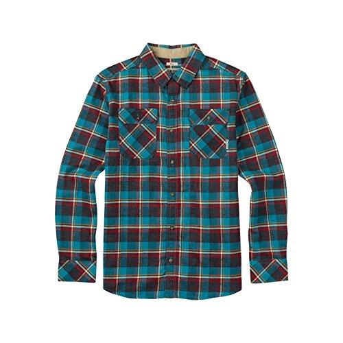 Burton Herren Brighton LS Woven Hemd, Larkspur Yolo Plaid, M (Woven-sport-shirt Plaid)