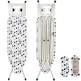 WOLTU BGT04 Bügeltisch Bügelbrett für Dampfbügeleisen mit Ärmelbrett
