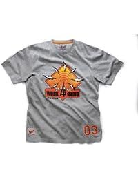 Scruffs XL Radio Graphic T-Shirt - Grey