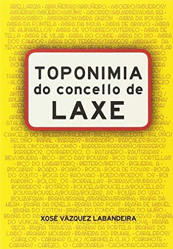 Toponimia do concello de Laxe por Xosé Vázquez Labandeira