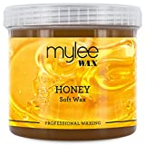 Mylee Honey Soft Wax For Sensitive Skin Salon Professional Full Body Hair Removal Waxing Perfect For All Skin Types With Antibacterial Benefits And Effective On Short, Stubborn And Coarse Hairs (450g) - MYLEE - amazon.co.uk