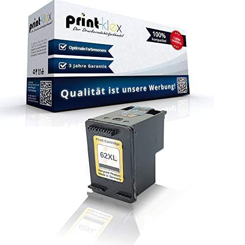 Preisvergleich Produktbild Kompatible Tintenpatrone HP 62 XL OfficeJet 200 200C 200Series 201 202 202C 250 Mobile 252 Mobile 5740 5740 Series 5741 5742 5743 5744 5745 5746 8000 Series 8040 8045 C2P05AE HP62 XL Schwarz Black Easy Plus Serie