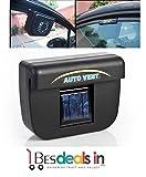 BEST DEALS - Solar Sun Power Car Auto Air Vent Cool Fan Cooler Ventilation System Radiator