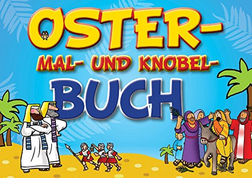 Oster-Mal- und Knobel-Buch, Buch