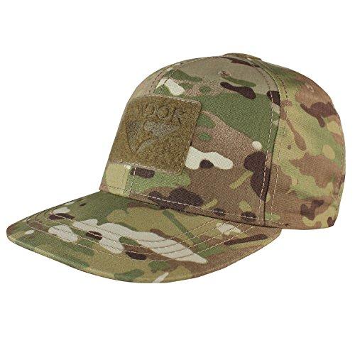 Baseball Cap Flat Bill Snapback Multicam, Multicam (Camo Cap Flat Bill)