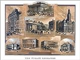 Posterlounge Forex-Platte 130 x 100 cm: Börsen der Welt von Everett Collection
