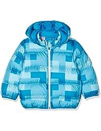 Details zu adidas Originals Baby & Kinder MF Jungen Padded Jacke Winterjacke Waschbär Blau