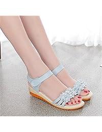 RUGAI-UE Sandali per sandali estivi con fondo spesso sandali,gules,trentacinque