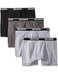 Gildan Platinum Men's 4-Pack Boxer Brief