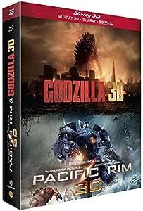 Godzilla + Pacific Rim [Combo Blu-ray 3D + Blu-ray 2D]