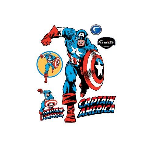 d Graphic (Captain America-dekor)