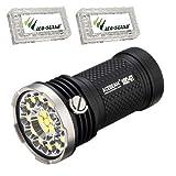Acebeam X80-GT Flashlight/Searchlight -32,500 Lumens -18 x CREE XHP50.2 LED's w/2x Free Eco-Sensa Battery Case