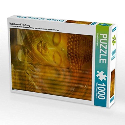(Buddha und Yin Yang 1000 Teile Puzzle hoch)