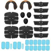 Benkeg - 32 Piezas EMS Ultimate Muscle Stimulator Gear Training Gear Hip Trainer Set Fitness Equipment Fit Full Body